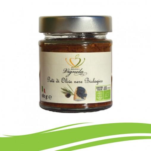 Patè di Olive Nere Biologico